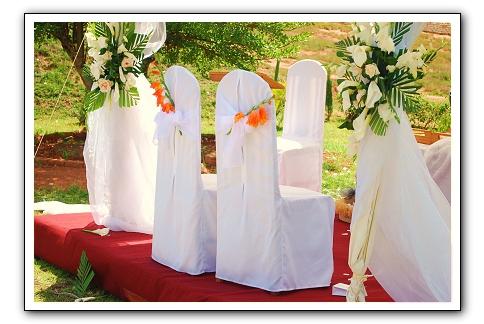Mariage Champetre Chaises Espace Les Colonnades