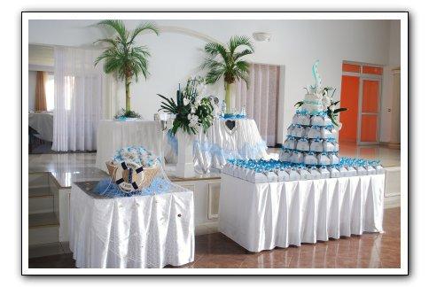 decoration mariage bleu espace les colonnades salle de r ception salle de mariage. Black Bedroom Furniture Sets. Home Design Ideas