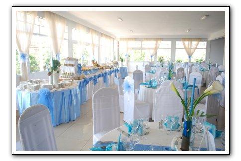 Pin Décoration De Mariage Bleu Et Argent on Pinterest