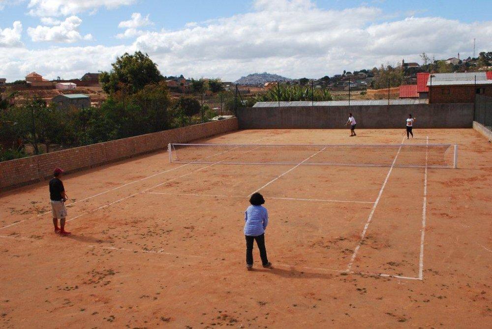 terrain tennis Les Colonnades