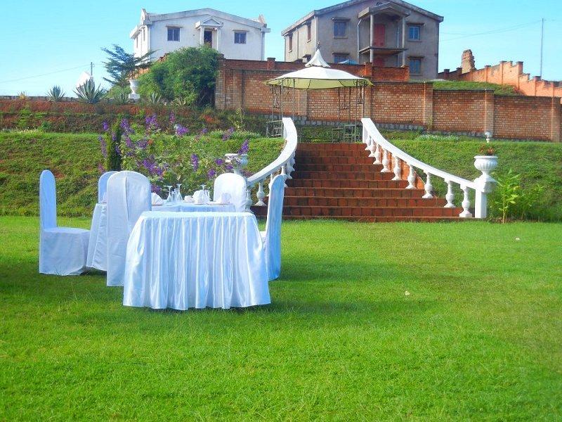 petit déjeuner mariés les colonnades antananarivo