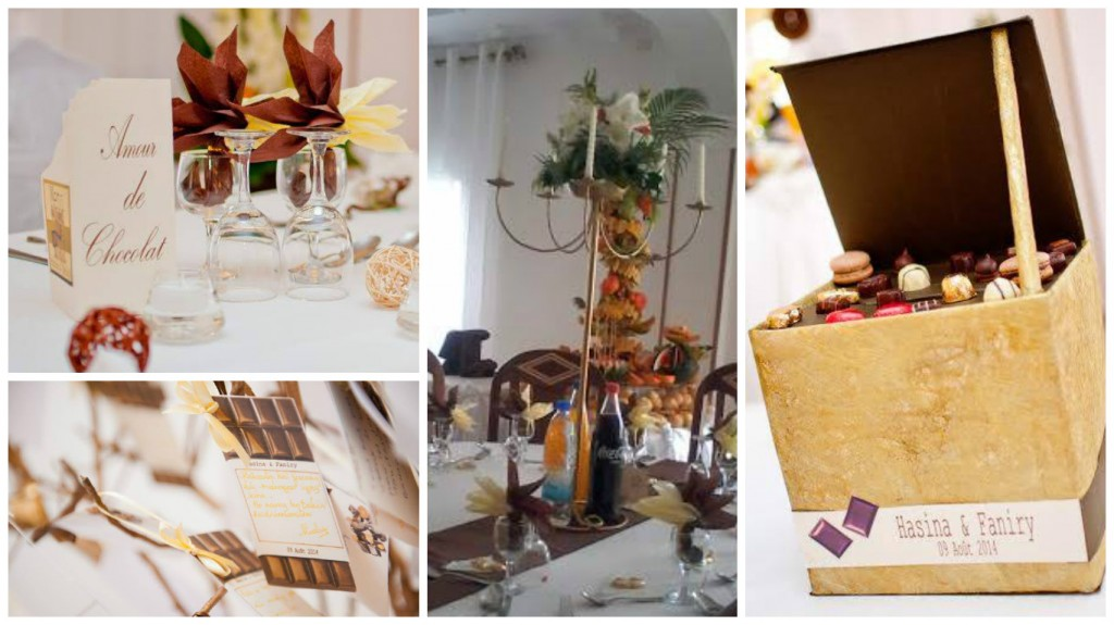 9. Mariage H&F - Un amour de chocolat ( 09 Août 2013)