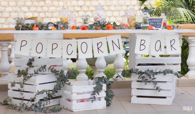 popcorn bar mariage