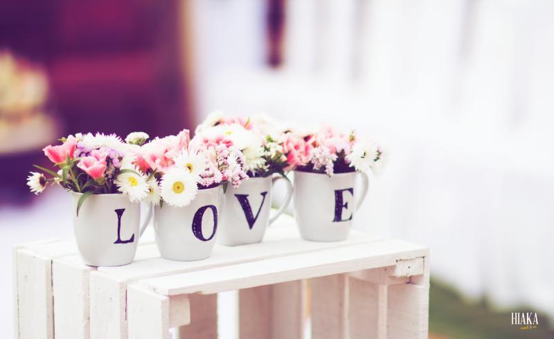 décoration mariage Love