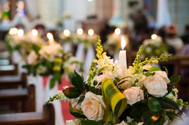 composition-florale-mariage-décoration