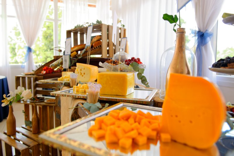 Bar à fromage mariage