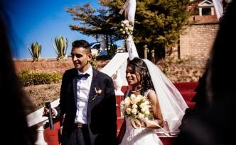 Mariage-arrivée-mariés