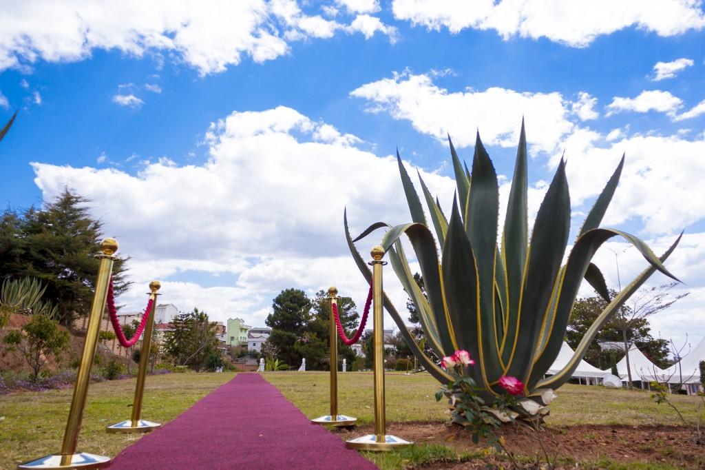 tapis-rouge-Accueil-marés-Colonnades-jardin