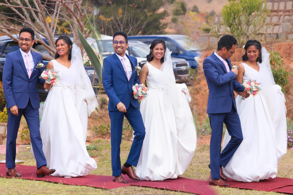 arrivés-mariés-espace-Colonnades-mariage-Antananarivo