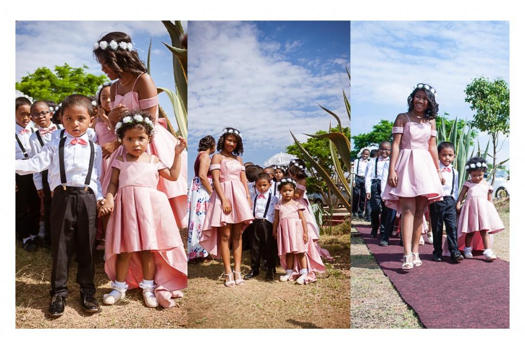Mariage-Rindra-tahiana-espace-colonnades-enfants-d'honneur