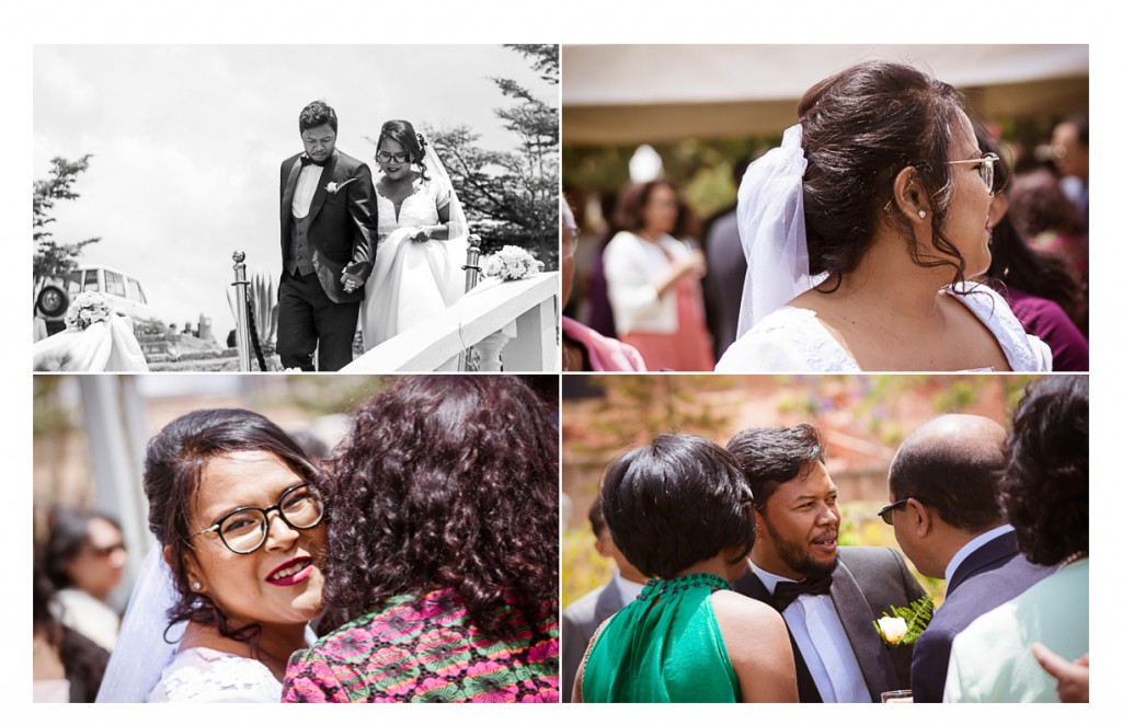Mariage-arrivée-mariés-Zo&Gabriella-espace-colonnades