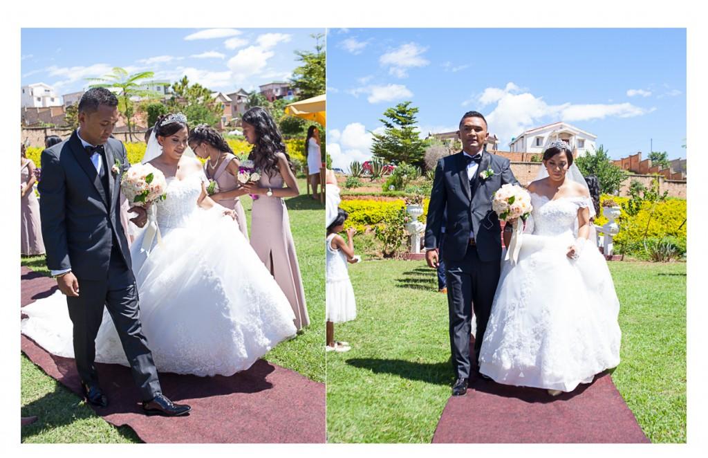 arrivée-mariés-mariage-luck-lanto