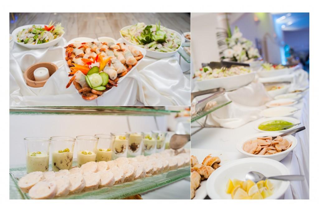 Mariage-espace-Antananarivo-Colonnades-buffet-entrée froide-Mamy&Nampoina