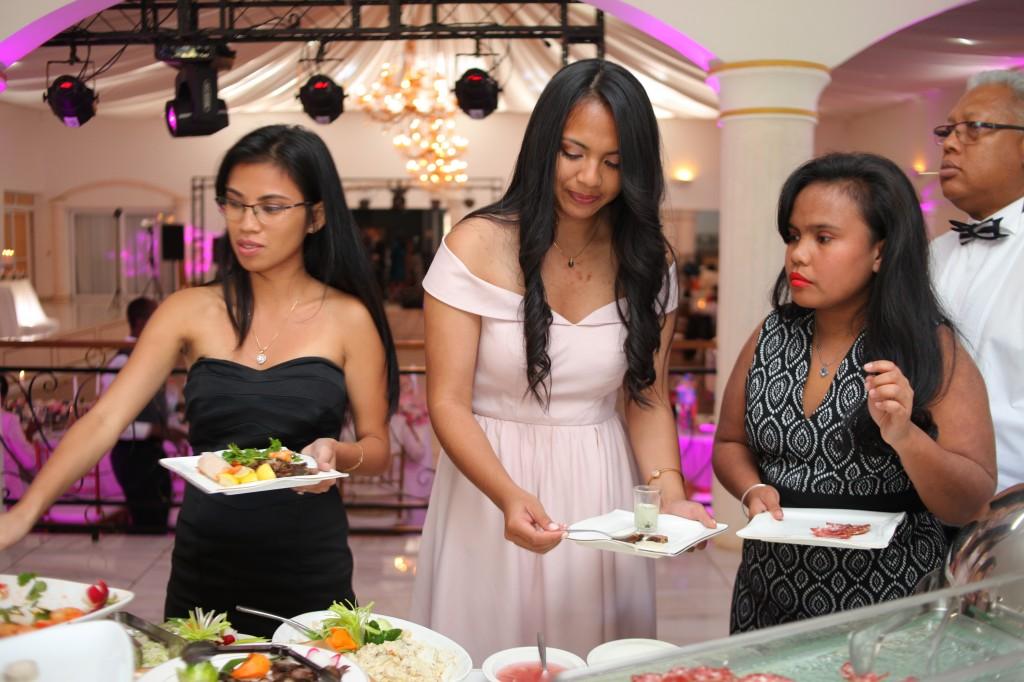 buffet mariage colonnades