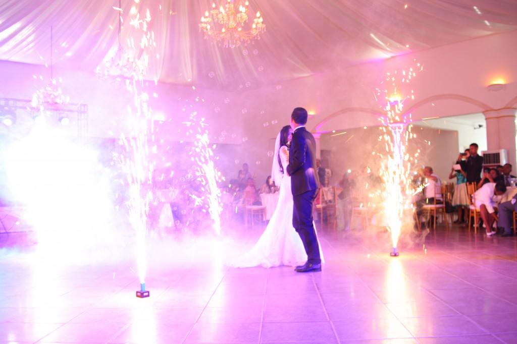 danse ouverture mariage colonnades