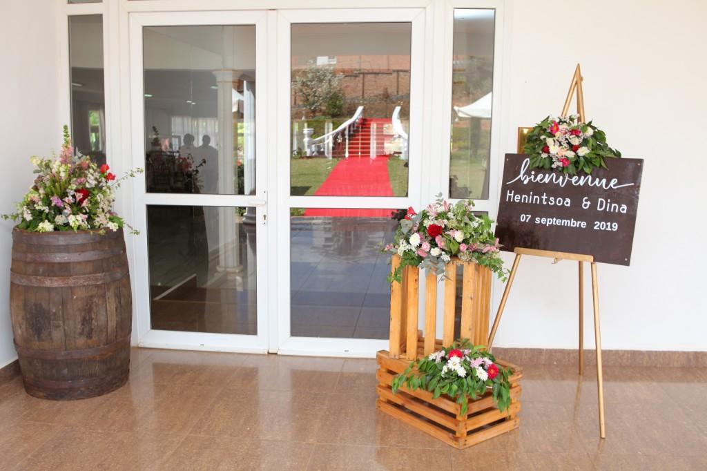 Salle de réception domaine' Antananarivo