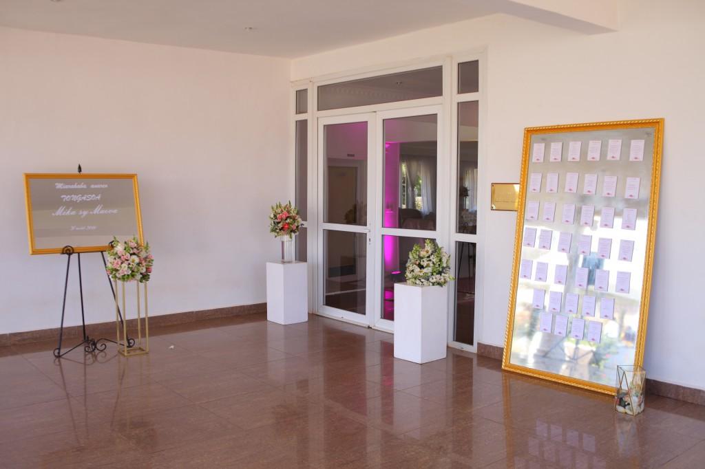 Mariage Antananarivo Colonnades