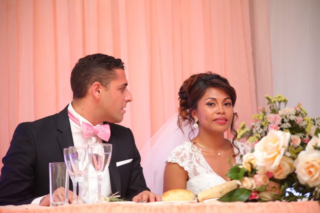 ambiance salle mariage champêtre colonnades photosary emilio elviane