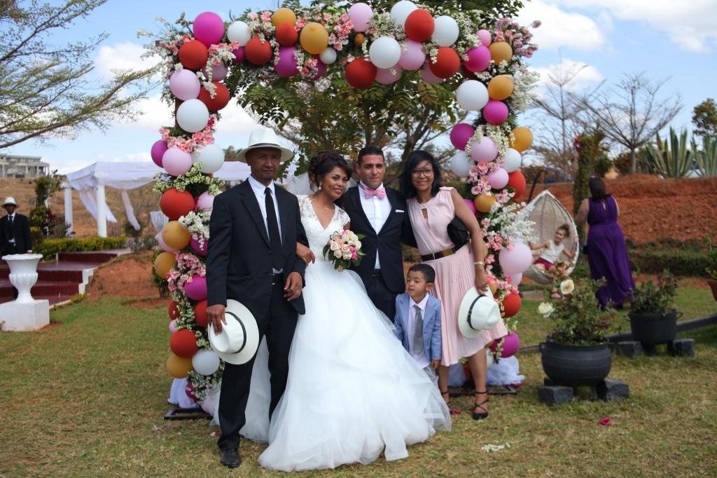 mariage champêtre Madagascar