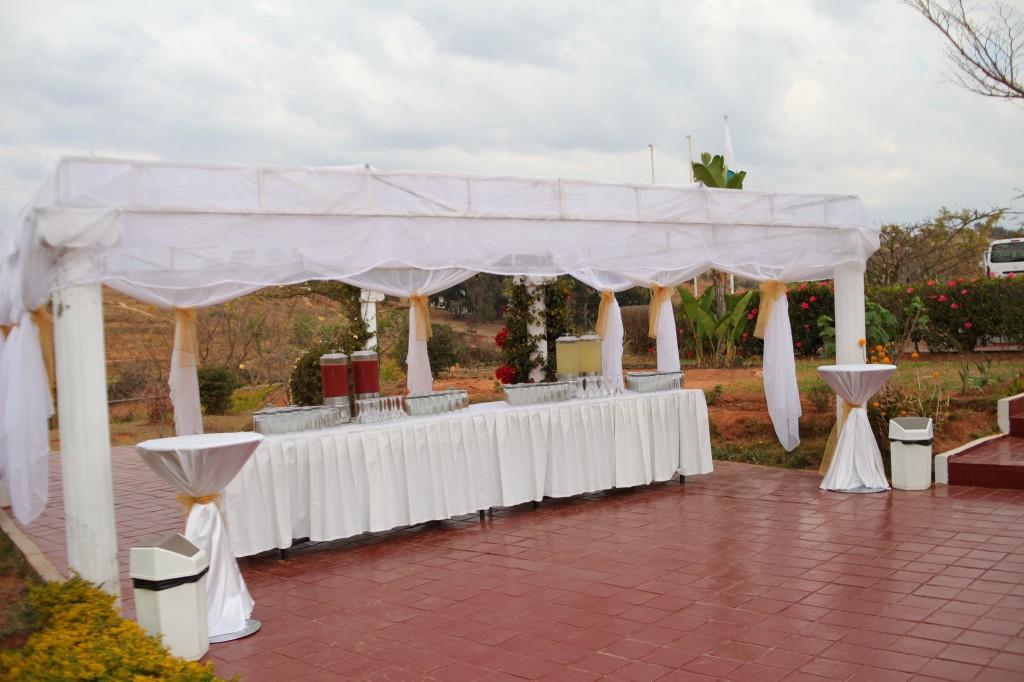 verre de bienvenue mariage espace colonnades Ny hasina Ronnie (1)