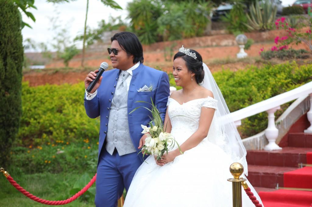 salle de réception mariage Tanà photosary