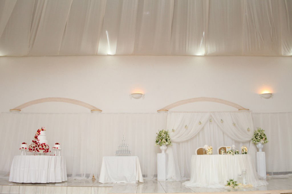 décoration espace mariage Antananarivo