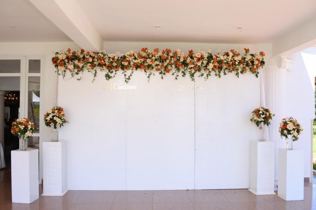 décoration salle de récéption mariage Colonnades Mamitiana & Tatiana (11)