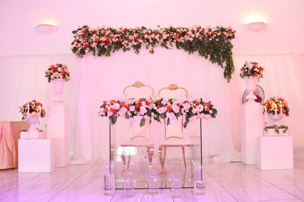 décoration salle de récéption mariage Colonnades Mamitiana & Tatiana (12)