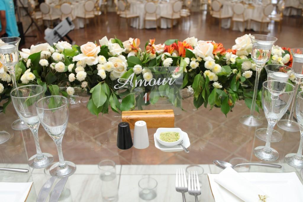 décoration salle de récéption mariage Colonnades Mamitiana & Tatiana (2)