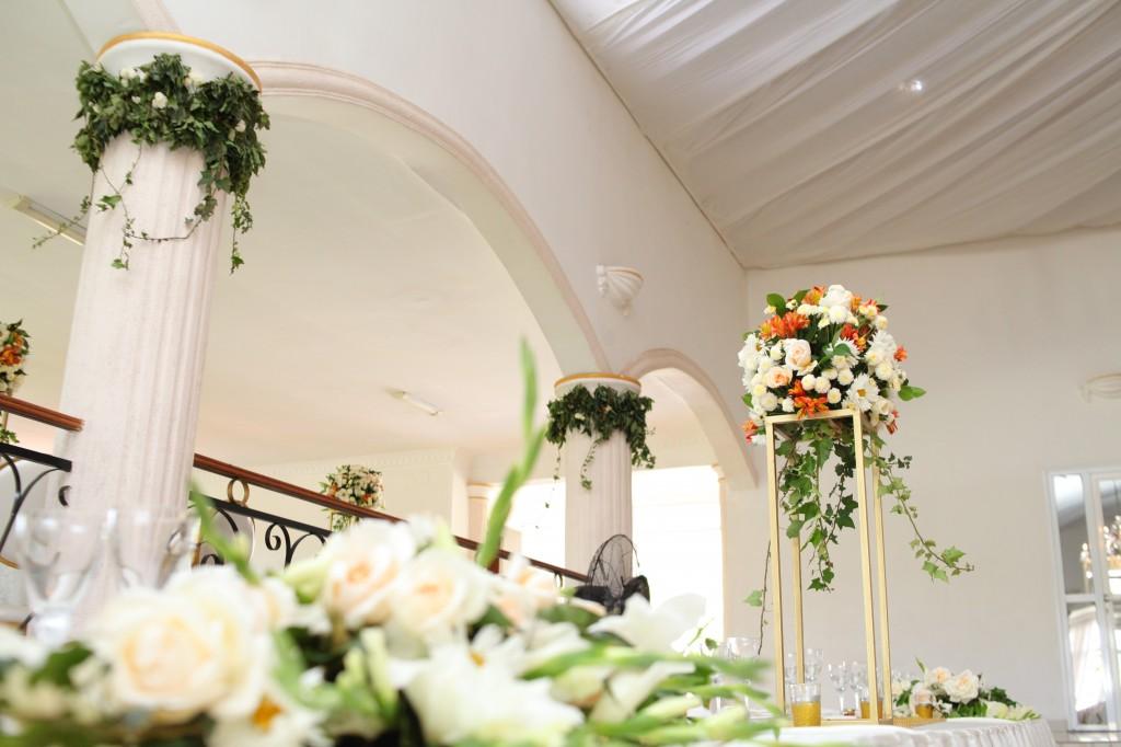 décoration salle de récéption mariage Colonnades Mamitiana & Tatiana (5)