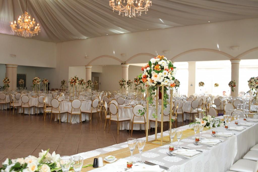 décoration salle de récéption mariage Colonnades Mamitiana & Tatiana (6)