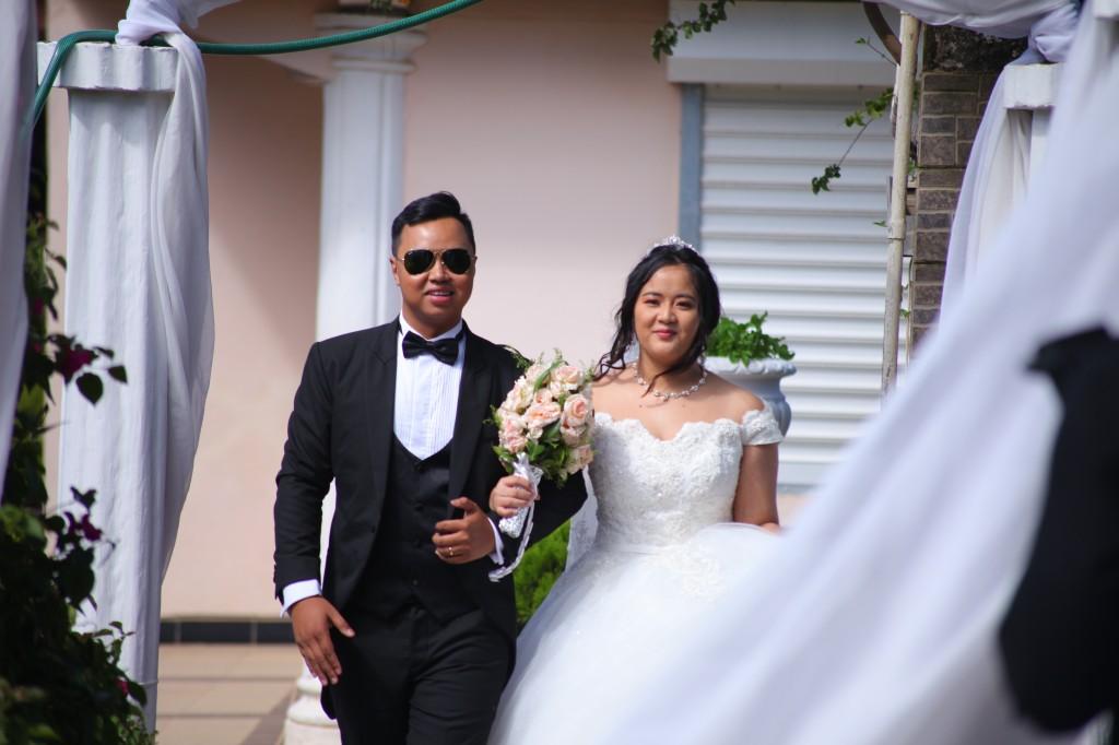 parcours tapis blanc mariage Colonnades Mamitiana & Tatiana (3)