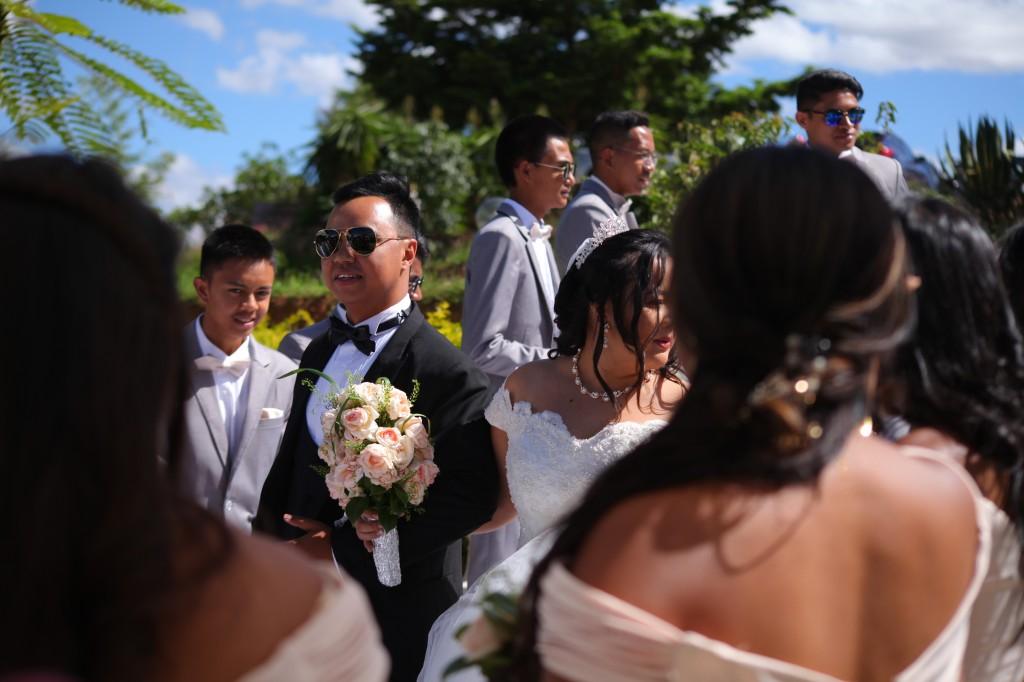 parcours tapis blanc mariage Colonnades Mamitiana & Tatiana (6)